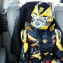 Radnom funny picture tags: transformers Bumblebee baby costume auto-tot