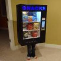 Radnom funny picture tags: vending-machine costume kid halloween quality