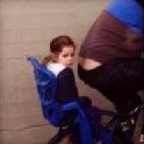 Radnom funny picture tags: worst-parent kid butt-crack bike seat