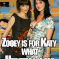 Radnom funny picture tags: zooey katy perry arial helvetica
